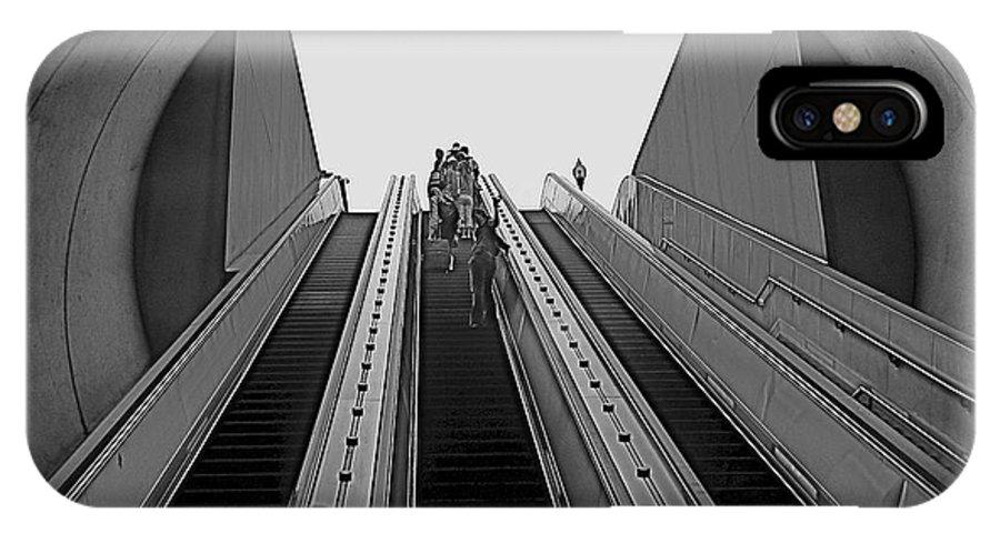 Washington Dc IPhone X Case featuring the photograph Dc Metro by Rita Mueller