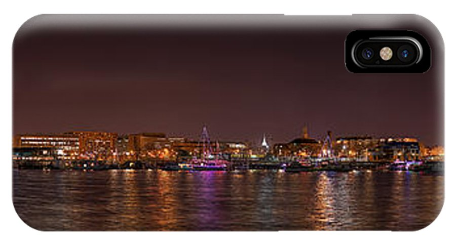 Metro IPhone X Case featuring the photograph Dc Waterfront by Metro DC Photography