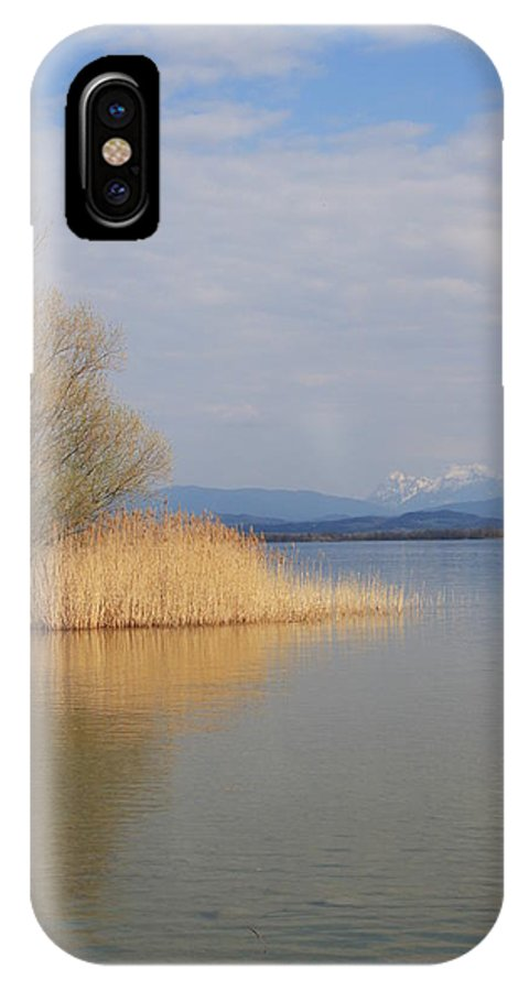 Water IPhone X Case featuring the photograph Dead Silence by Christiane Schulze Art And Photography