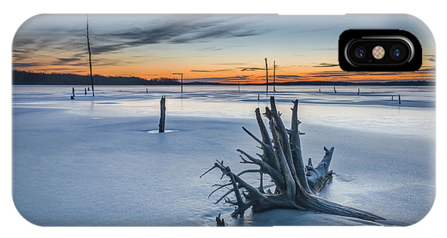 Frost Bite IPhone X Case featuring the photograph Dead Wood by Michael Ver Sprill