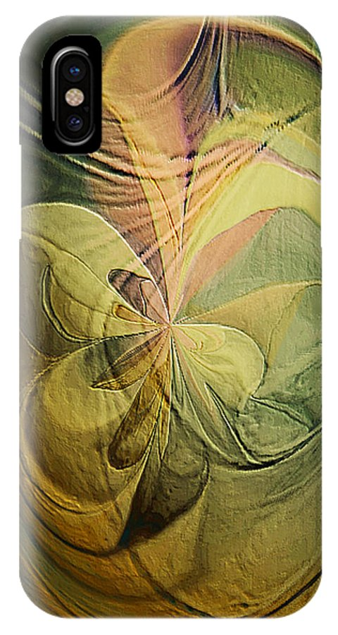Paula Ayers IPhone X Case featuring the painting Dear Heart by Paula Ayers