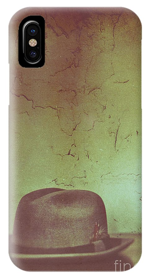 Man IPhone X Case featuring the photograph Death Of A Salesman by Margie Hurwich