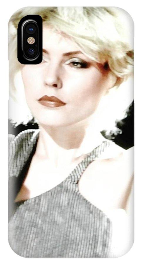 Deborah Harry Blondie Lead Singer IPhone X Case