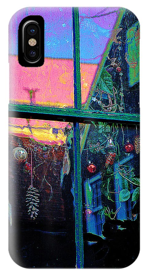 Christmas IPhone X / XS Case featuring the photograph December Afternoon by Ira Shander