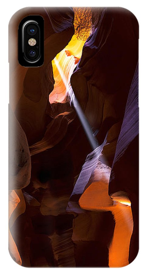 Deep In Antelope IPhone X Case featuring the photograph Deep In Antelope by Chad Dutson