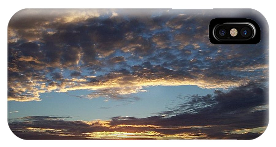 Depth IPhone X Case featuring the photograph Deep Thought by Christine Drake