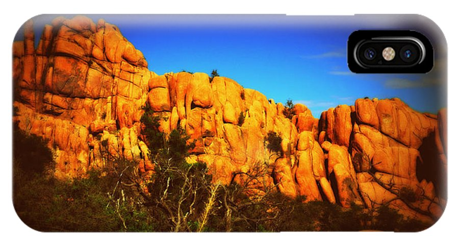 Desert IPhone X Case featuring the photograph Dells Number Four by Holly Storz