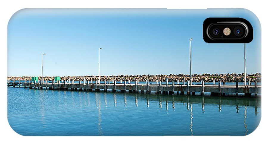 Australia IPhone X Case featuring the photograph Denison Port by Yew Kwang