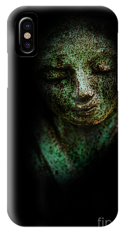 Depression IPhone X Case featuring the photograph Depression by Lee Dos Santos