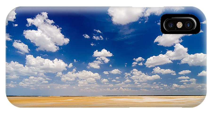 Guajira IPhone X Case featuring the photograph Desert Flatlands by Jess Kraft