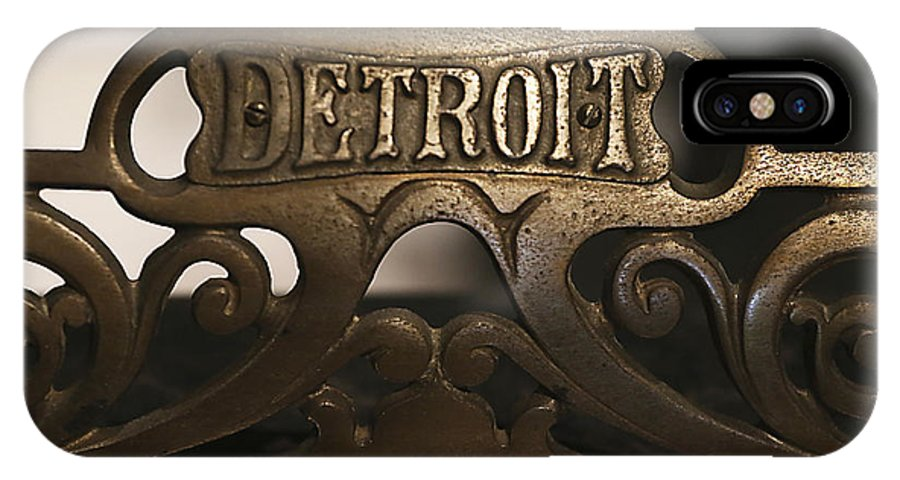 Detroit IPhone X Case featuring the photograph Detroit Strong by Joseph Coots