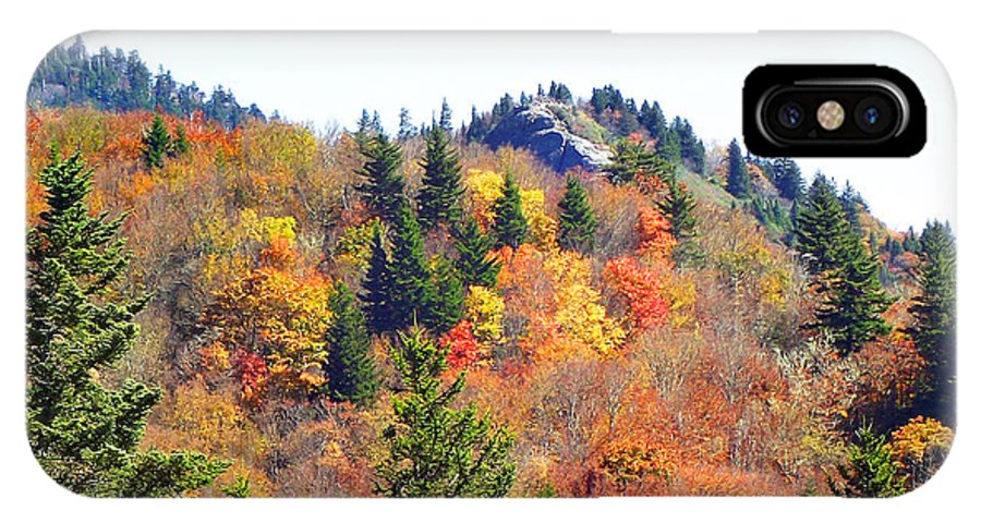 Devil's Courthouse IPhone X Case featuring the photograph Devil's Courthouse In The Fall by Duane McCullough