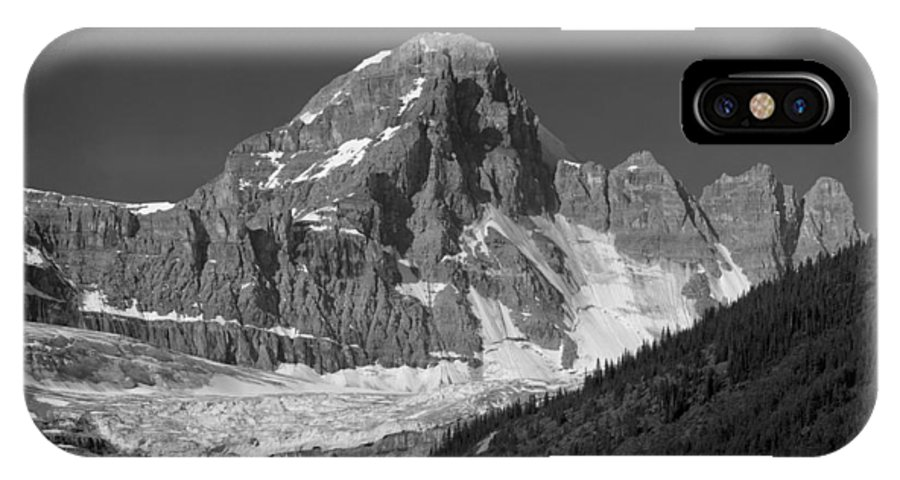 Diadem Peak IPhone X Case featuring the photograph 1m3728-bw-diadem Peak by Ed Cooper Photography