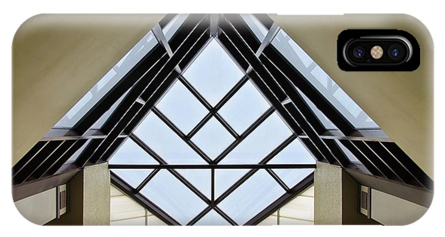 Directional IPhone X Case featuring the photograph Directional Symmetry by Charles Dobbs