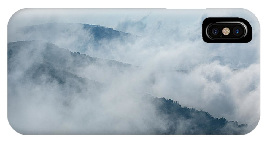 Blue Ridge Parkway IPhone X Case featuring the photograph Distant Canyons - Blue Ridge Parkway by Dan Carmichael