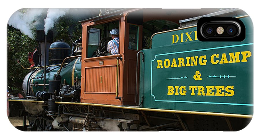 Dixiana IPhone X Case featuring the photograph Dixiana Engine 4 by Richard J Cassato