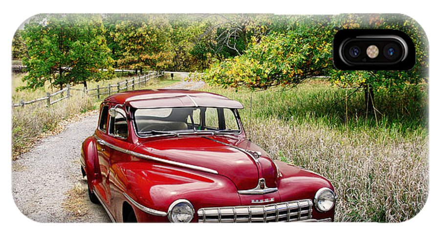 Automobiles IPhone X Case featuring the photograph Dodge Country by John Anderson
