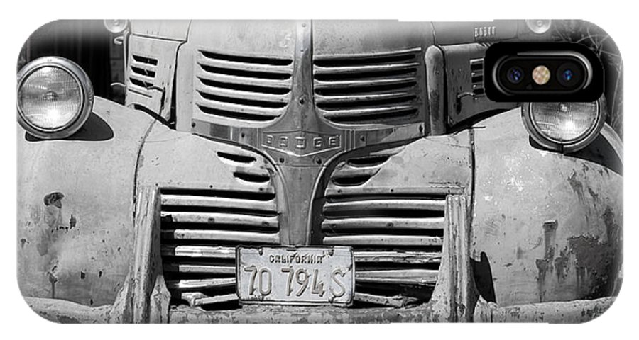 1939 IPhone X Case featuring the photograph Dodge Truck by Bradley Bennett