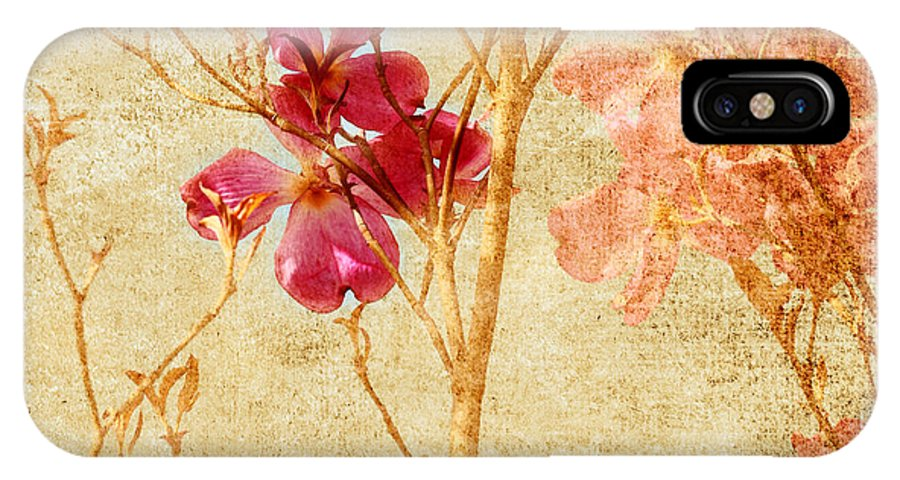 Dogwood IPhone X Case featuring the photograph Dogwood by Bonnie Bruno