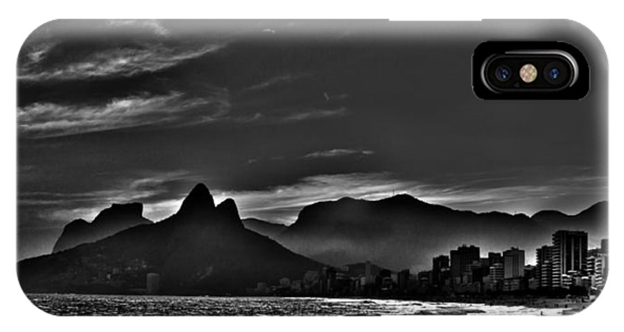 Brasil IPhone X Case featuring the photograph Dois Irmaos by Carlos Mac