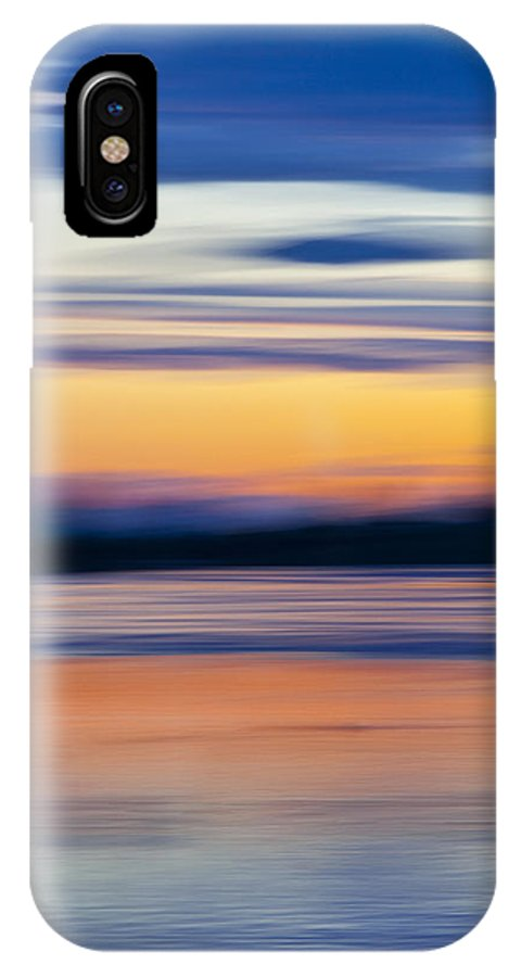 River IPhone X Case featuring the photograph Down By The River by Theresa Tahara