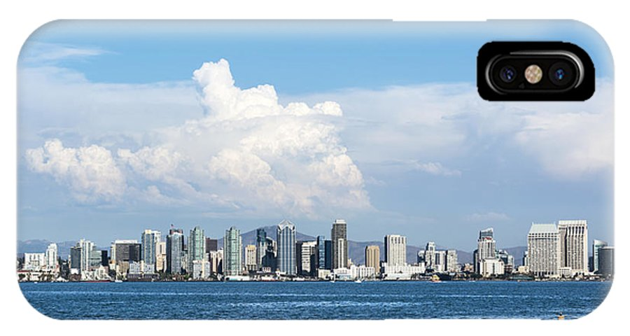 San Diego IPhone X Case featuring the photograph Downtown San Diego by Joe Belanger