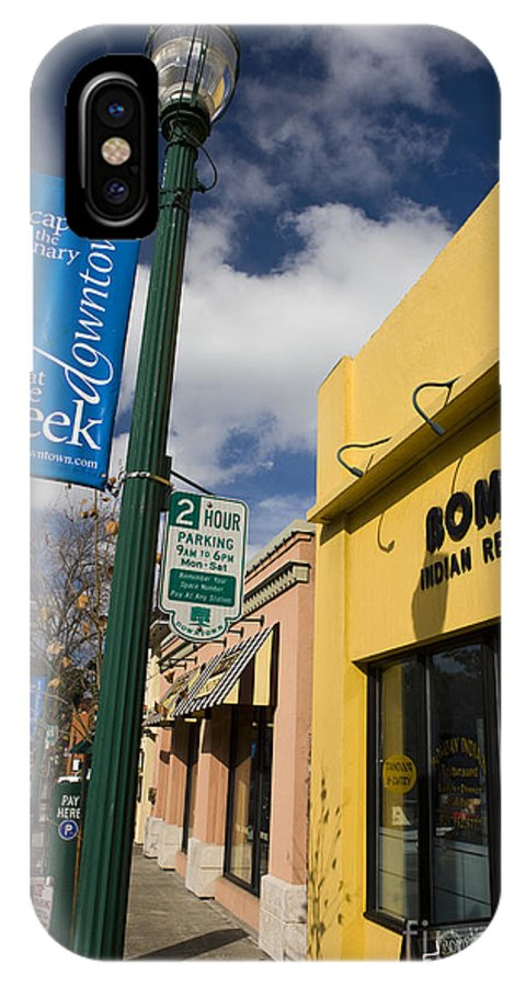 Travel IPhone X Case featuring the photograph Downtown Walnut Creek California by Jason O Watson
