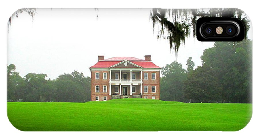 Drayton IPhone X Case featuring the photograph Drayton Hall Approach by Randall Weidner