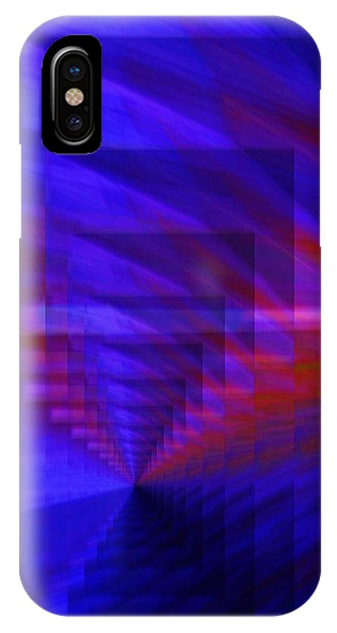 Dream In Light IPhone X / XS Case featuring the digital art Dream In Light by Geoff Simmonds