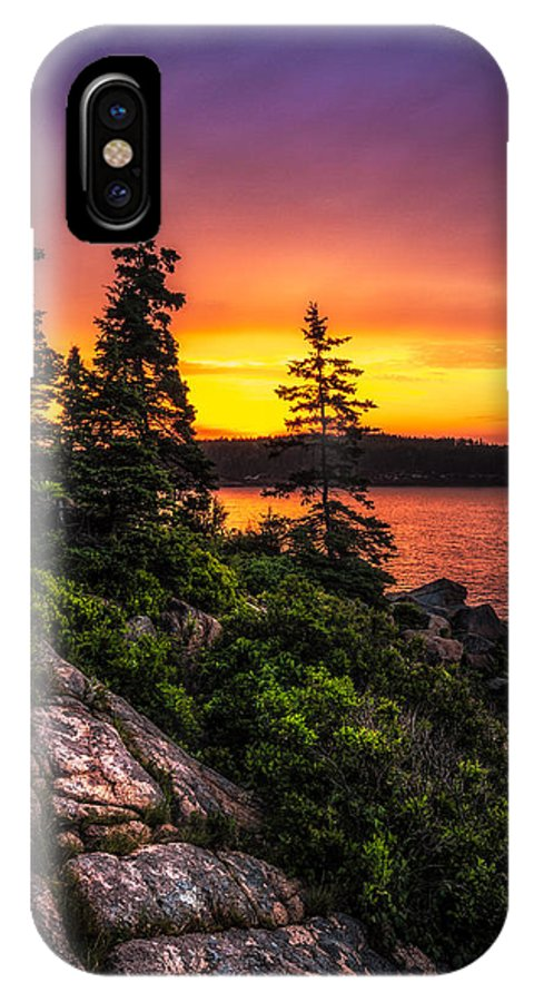 Acadia National Park IPhone X Case featuring the photograph Dreaming Of Acadia by Robert Clifford