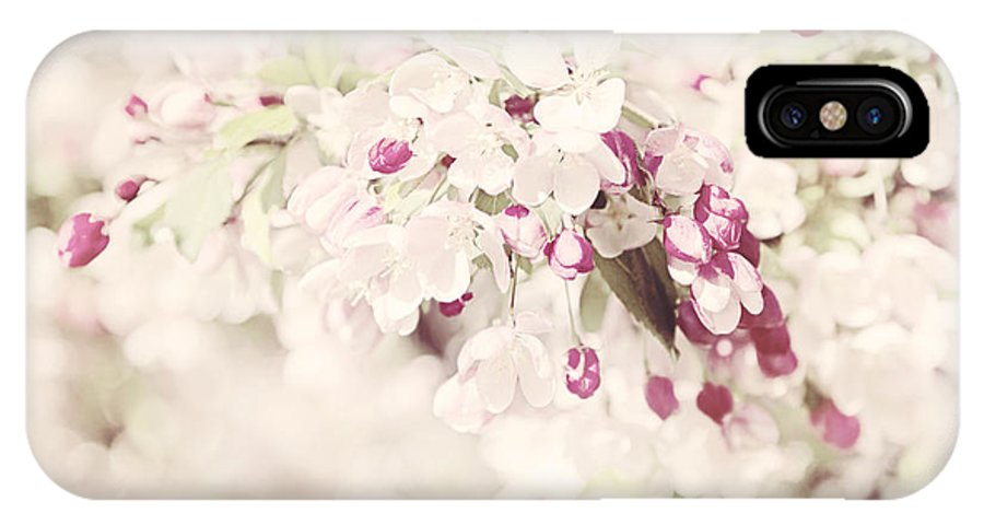 Art Print IPhone X / XS Case featuring the photograph Dreaming Of Spingtime Blossom by Natalie Kinnear