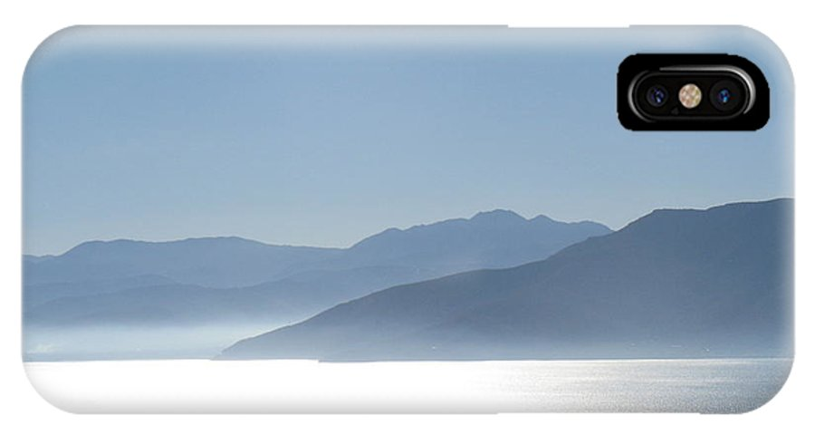 Sea IPhone X Case featuring the photograph Dreamy Sea by Daniel Taylor