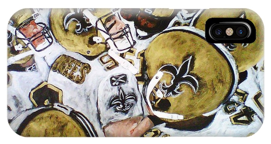 Drew Brees And The New Orleans Saints IPhone X Case