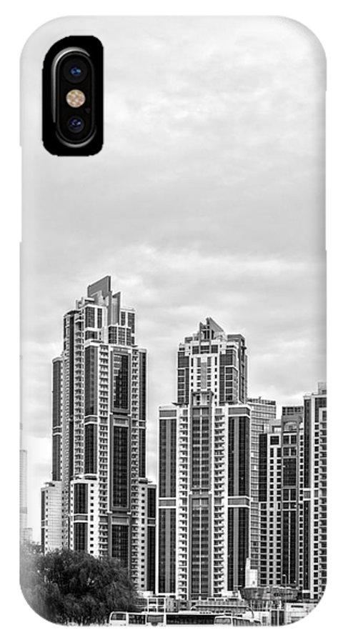 Dubai IPhone X Case featuring the photograph Dubai by Luciano Mortula