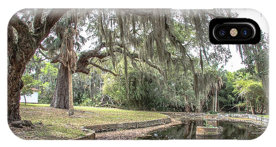 Cumberland Island IPhone X Case featuring the photograph Duck Pond Cumberland by Scott Moore