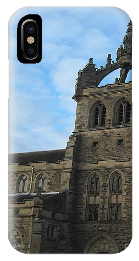 Dundee IPhone X Case featuring the photograph Dundee Kirk by Deborah Smolinske