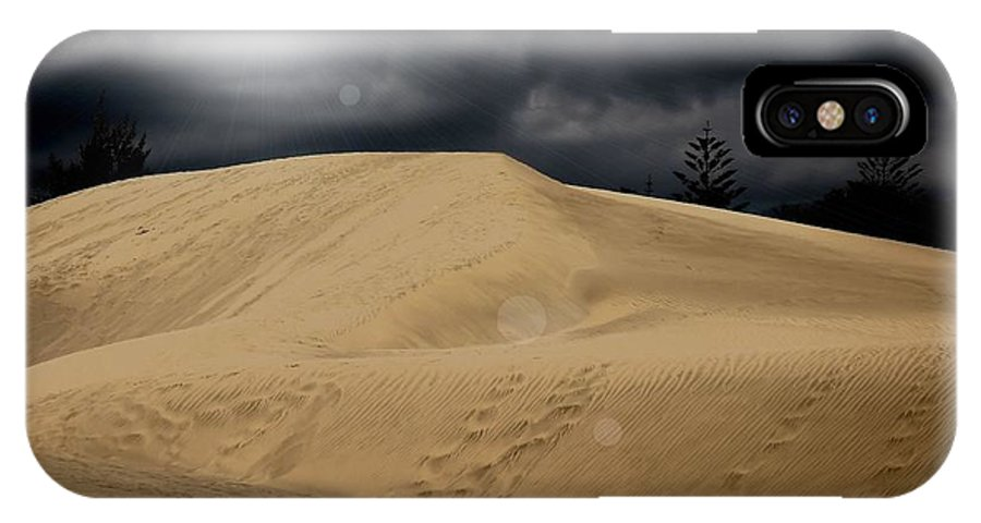Desert Scape Photograph IPhone X Case featuring the photograph Dune by Flow Fitzgerald