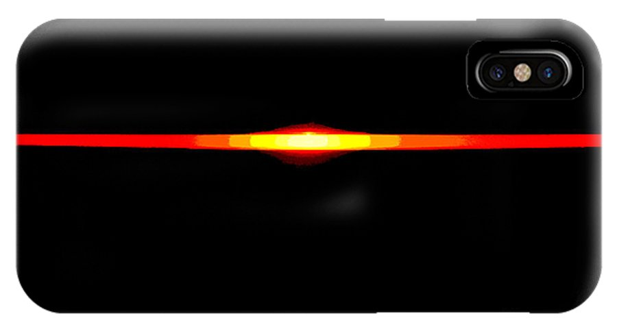Newel Hunter IPhone X Case featuring the photograph Dusk Till Dawn 2 by Newel Hunter