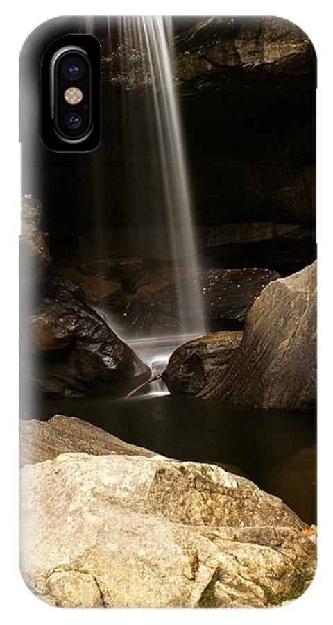 Kentucky IPhone X Case featuring the photograph Eagle Falls Iv by Amanda Kiplinger