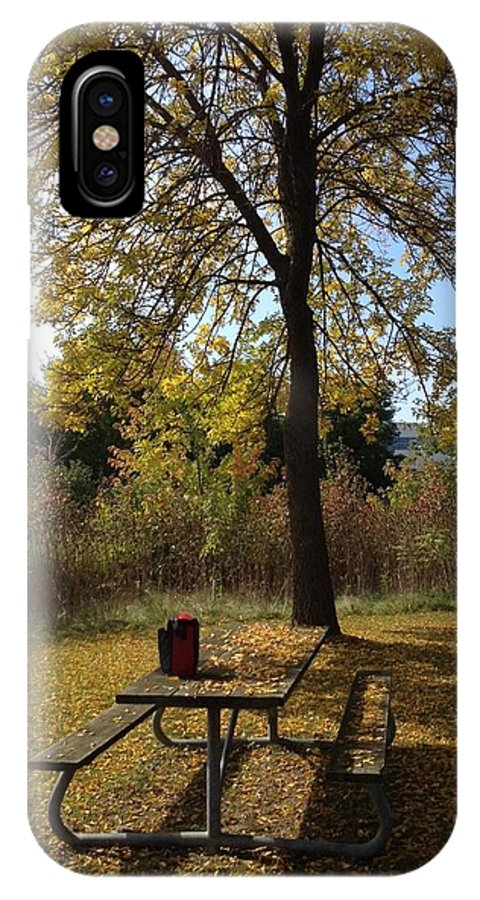 Fall IPhone X Case featuring the photograph Early Fall by Pema Hou