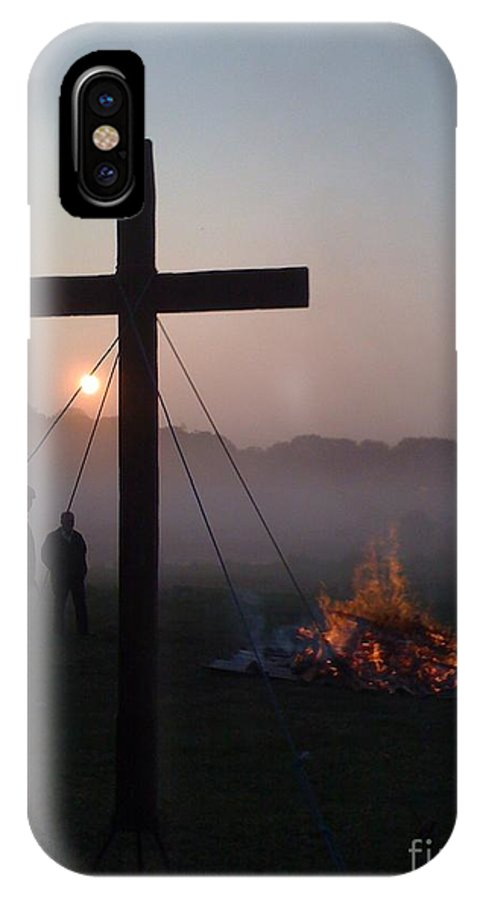 Easter IPhone X Case featuring the photograph Easter Morning by Cate Field