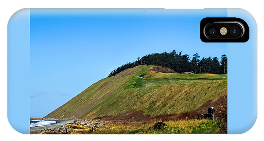 Bluff IPhone X Case featuring the photograph Ebey's Bluff by Rick Lawler