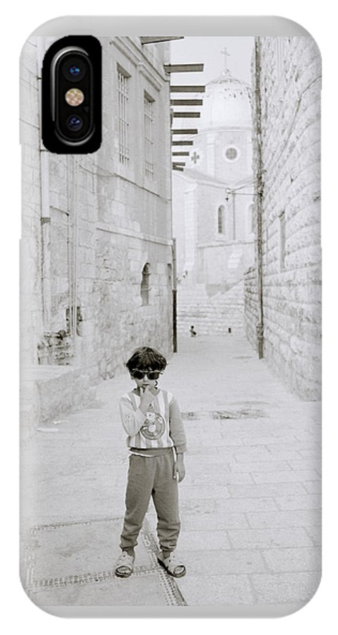 Children IPhone X Case featuring the photograph Innocence Of Childhood by Shaun Higson