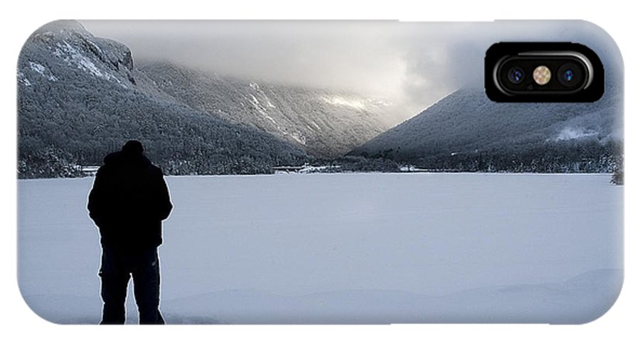 Lake IPhone X Case featuring the photograph Echo Lake by Christine Nunes