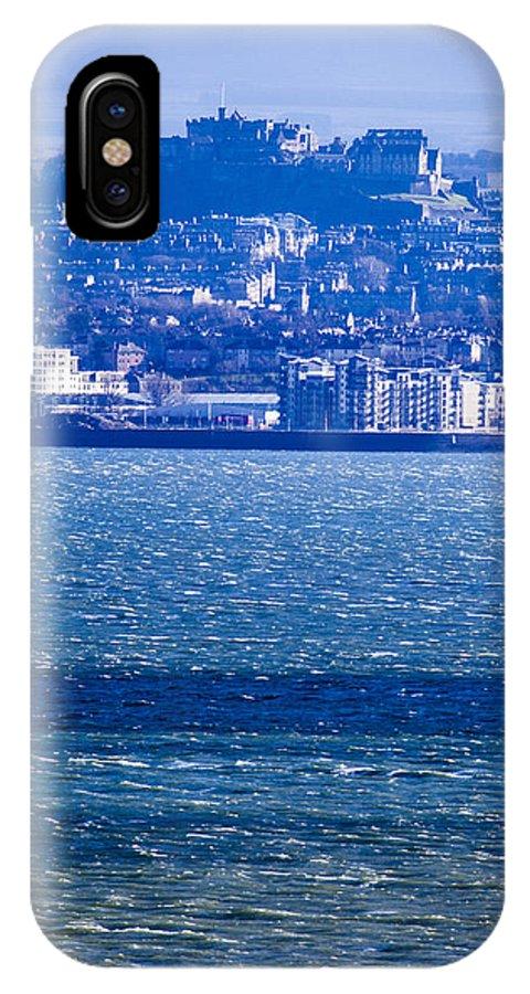 Edinburgh IPhone X Case featuring the photograph Edinburgh Castle by Michael Schofield