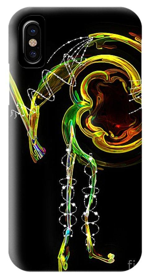 Matador IPhone X Case featuring the digital art El Asesino En Su Traje De Luces by RC DeWinter
