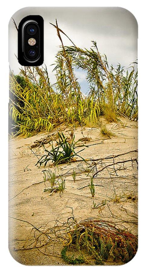 Greece IPhone X Case featuring the photograph Elafonisi Grass by Oleg Koryagin