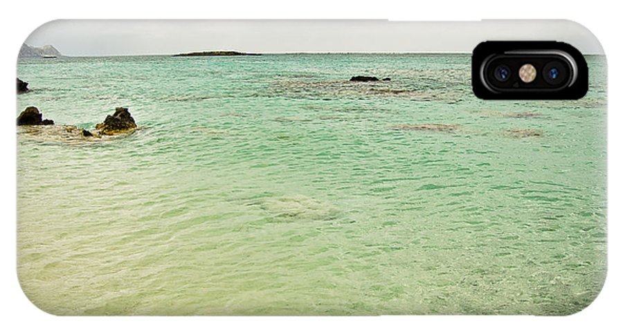 Greece IPhone X Case featuring the photograph Elafonisi Sea View by Oleg Koryagin
