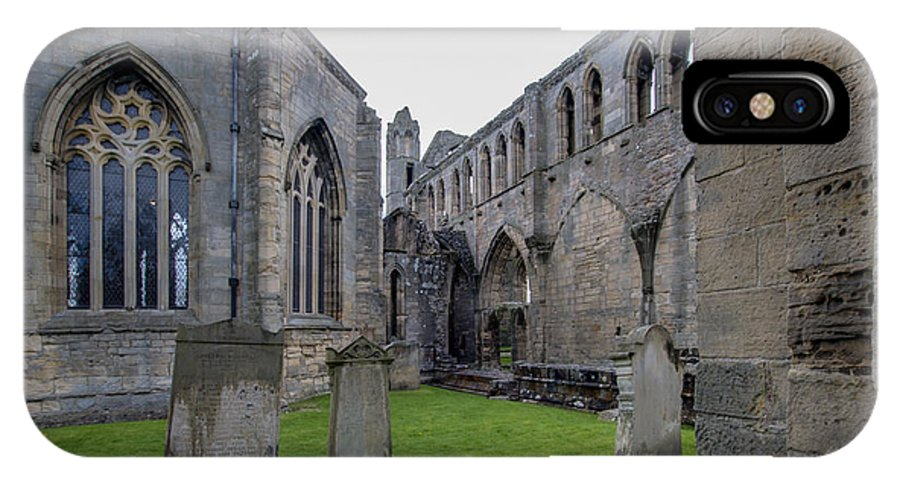 Elgin IPhone X Case featuring the photograph Elgin Cathedral Community - 6 by Paul Cannon