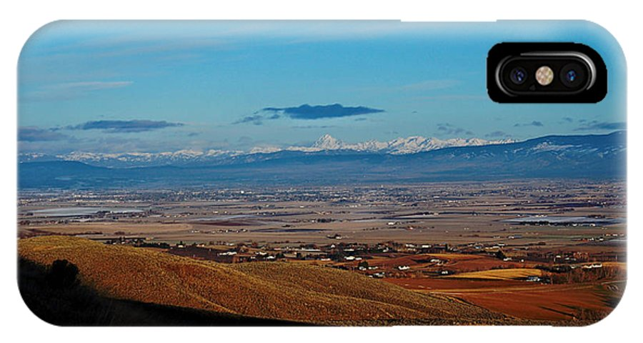 Ellensburg IPhone X Case featuring the photograph Ellensburg Valley 1 by Rich Priest